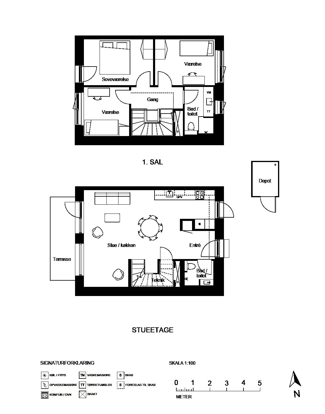 Plantegning for Ringholmvej 54, 2700 Brønshøj