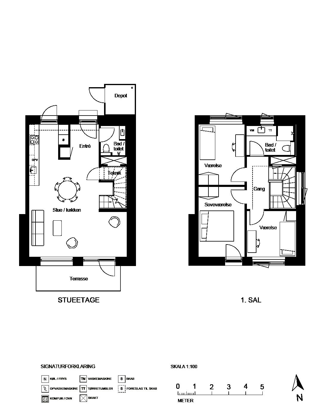 Plantegning for Ringholmvej 33, 2700 Brønshøj